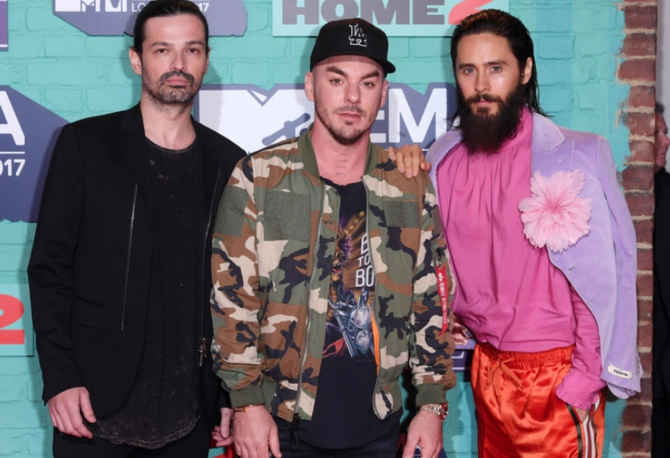 30 Seconds To Mars / Фото: dailymail.co.uk