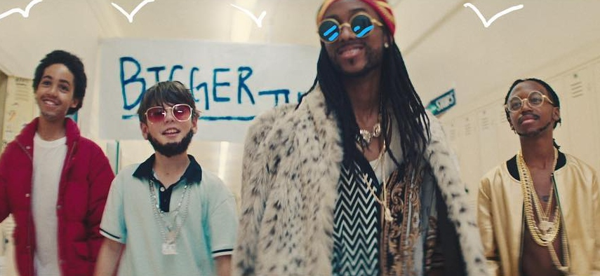 2 Chainz feat. Drake, Quavo- Bigger Than You​Фото: кадр из клипа
