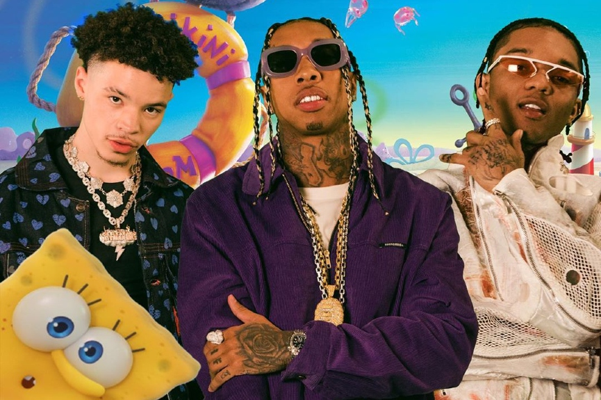 Lil Mosey, Tyga и Swae Lee​Фото: Instagram